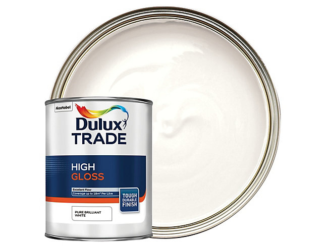 Dulux Trade High Gloss Paint 1L
