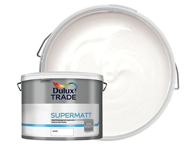 Dulux Trade Supermatt Emulsion Paint 10L