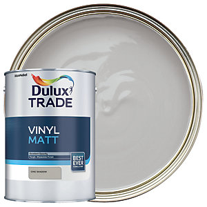 Dulux Trade Vinyl Matt Emulsion Paint - Chic Shadow 5L