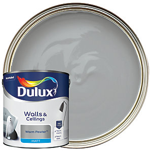 Dulux - Warm Pewter - Matt Emulsion Paint 2.5L