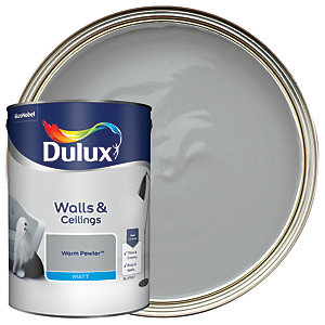 Dulux - Warm Pewter - Matt Emulsion Paint 5L