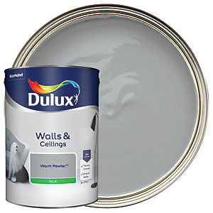 Dulux - Warm Pewter - Silk Emulsion Paint 5L