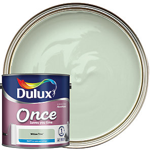 Dulux - Willow Tree - Once Matt Emulsion Paint 2.5L