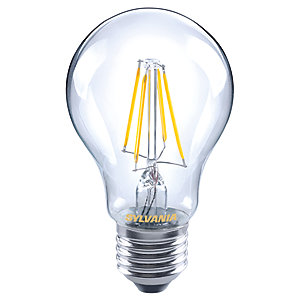 Sylvania LED GLS Dimmable Clear Filament Bulb - 7W E27 800lm