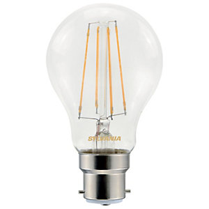 Sylvania LED GLS Non Dimmable Clear Filament Bulb -7W B22 806lm