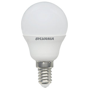 Sylvania LED Non Dimmable Frosted Mini Globe E14 Light Bulb - 3W