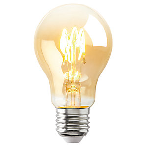 Sylvania LED Non Dimmable Gold Filament GLS E27 Light Bulb - 2.3W