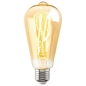 Sylvania LED Non Dimmable Vintage Gold Filament Tubular Bulb - 5W E27 250lm