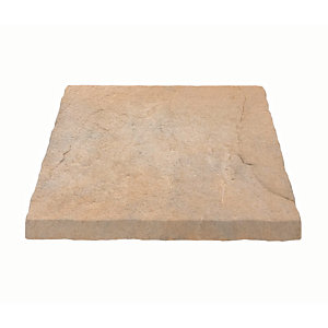 Marshalls Heritage Riven Coping Stone - Weathered York 600 x 300 x 38mm Pack of 44