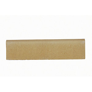 Marshalls Round Smooth Edging Stone - Buff 600 x 150 x 50mm