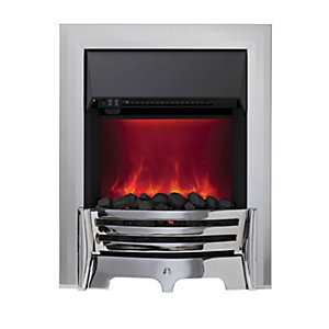 Mayfair Electric Inset Fires Chrome