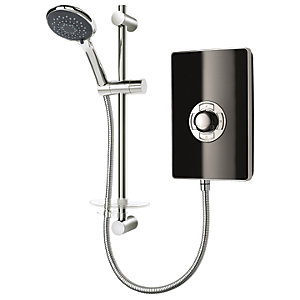 Triton Style Electric Shower - Black Gloss 8.5kW