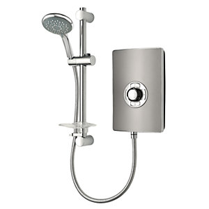 Triton Style Electric Shower - Gunmetal Effect 9.5kW