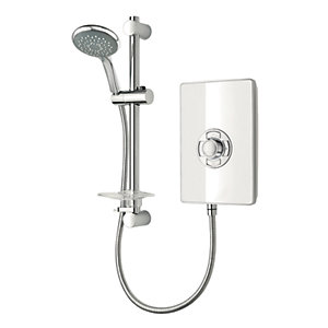 Triton Style Electric Shower - White Gloss 9.5kW