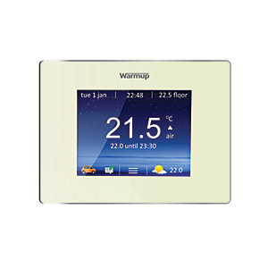 Warmup Smart 4IE Wifi Bright Porcelain Underfloor Heating Thermostat
