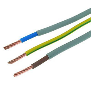 Wickes Meter Tails & Earth Cable - 16mm2 x 1m