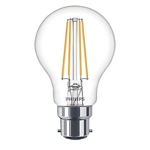 Philips Vintage Filament LED Clear Dimmable Bulb - 8W B22