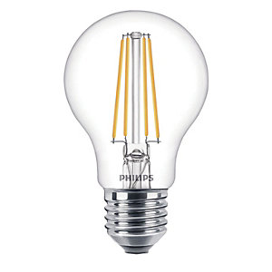 Philips Vintage Filament LED Clear Dimmable Bulb - 8W E27