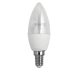 Wickes LED Candle Light Bulb - 3.4W E14