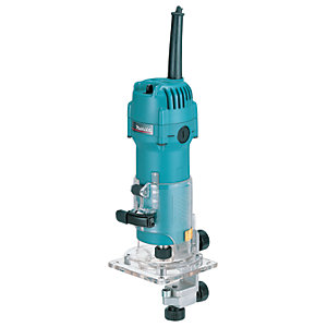 Makita 3707F 1/4in Laminate Trimmer 240V - 440W