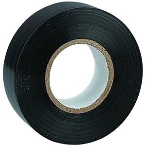 Wickes Electrical Insulation Tape - Black 20m Pack of 10