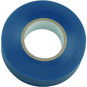 Wickes Electrical Insulation Tape - Blue 20m Pack of 10