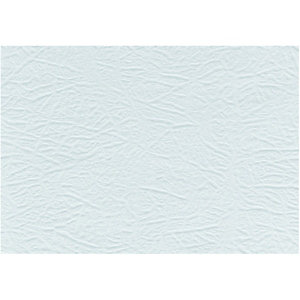 Wickes 9006 Embossed Wallpaper White - 10m