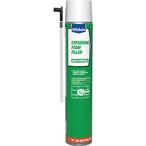 Wickes Expanding Foam Filler - 750ml