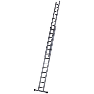 Werner 7.44m Pro 2 Section Aluminium Extension Ladder