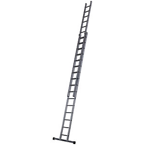 Werner Pro 2 Section Aluminium Extension Ladder - Max Height 8.6m