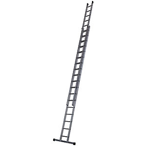 Werner Pro 2 Section Aluminium Extension Ladder - Max Height 9.76m