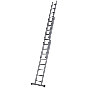 Werner Pro 3 Section Aluminium Extension Ladder - Max Height 5.7m