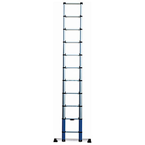 Werner Telescopic Aluminium Extension Ladder - Max Height 3.22m