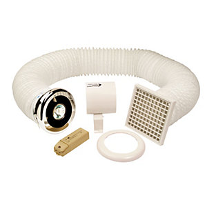 Manrose Fan & Lighting Shower Lite Kit