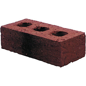 Wickes Facing Brick - Multi Red 65mm