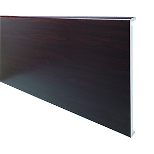 Wickes PVCu Rosewood Box End Board 18 x 450 x 1250mm