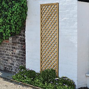 Wickes Diamond Trellis Panel - 1800mm x 600mm