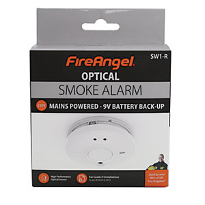 FireAngel Mains Operated Smoke Alarm