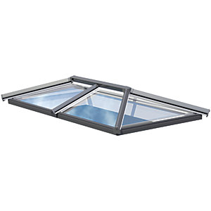 Eurocell 2 Bar Skypod - 1m x 1.5m - Anthracite Grey