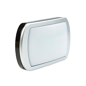 Briticent Ispot Lozenge LED Bulkhead Black Floodlight - 10W