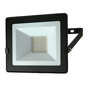 Luceco Eco Floodlight IP65 Black 2400 Lumens 30W