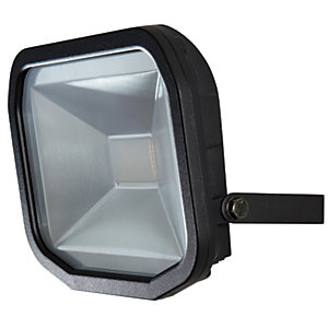 Luceco Slimline LED White Floodlight - 30W