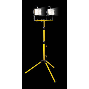 Wickes Defender 400W Twin Telescopic Floodlight