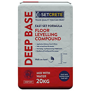 Setcrete Deep Base Floor Levelling Compound - 20kg