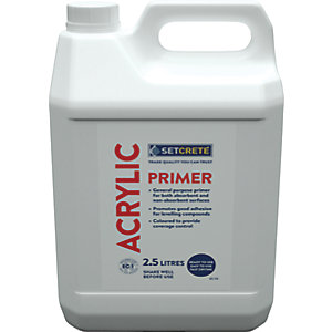 Setcrete High Performance Floor Levelling Acrylic Primer - 2.5L