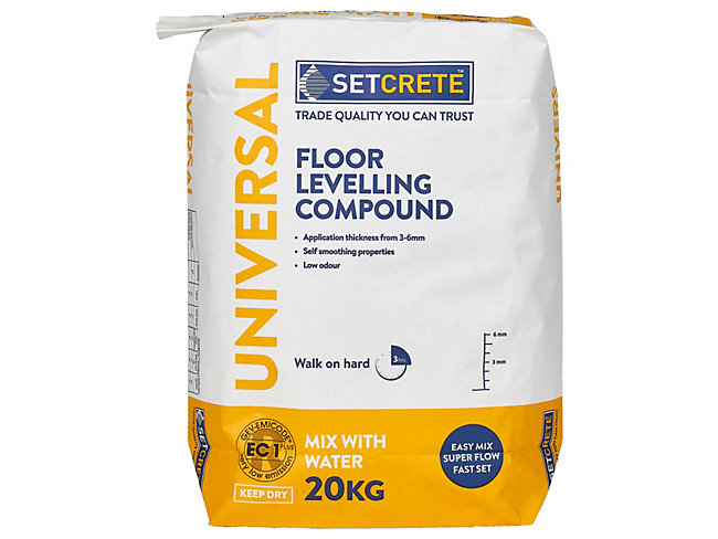 Setcrete Universal Floor Levelling Compound 20kg