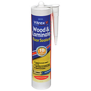 Vitrex Flexible Flooring Sealant Light Oak - 310ml