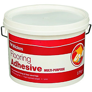 Wickes Multi-Purpose Flooring Adhesive - 2.75kg