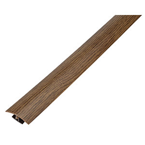 African Walnut Variable Height Threshold Bar - 900mm