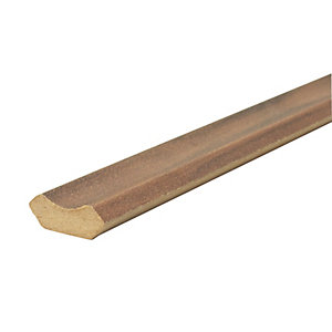 Wickes Fiorentino Chestnut Flooring Trim - 2m